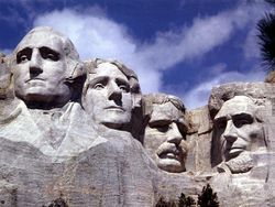 US Presidents on Mount Rushmore