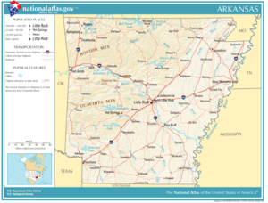 Atlas of Arkansas State
