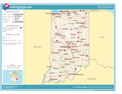 Atlas of Indiana State
