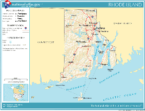 Atlas of Rhode Island State