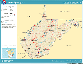 Atlas of West Virginia State
