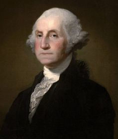 Portrait Painting of George Washington